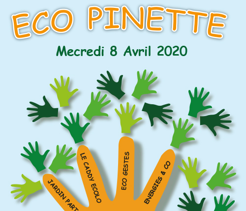 Action collective Eco Pinette, à Aix en Provence