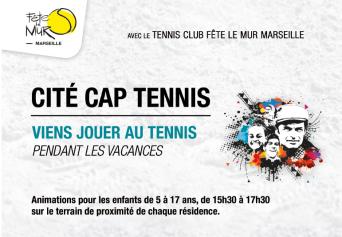 Fête le mur - Cité Cap tennis