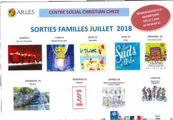 Les sorties d'été en famille du quartier Barriol - Arles