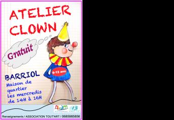 Atelier clown