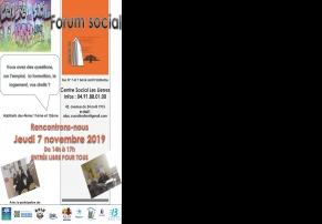 Forum social des Lierres - 13012