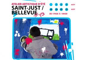 Ateliers artistique à St-Just Bellevue