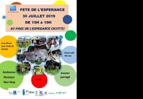 Fête de l'Espérance - le 30 Juillet au Parc de l'Espérance (13014)