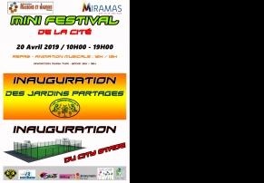 Mini Festival de la cité - Association Maisons et Jardin - Miramas