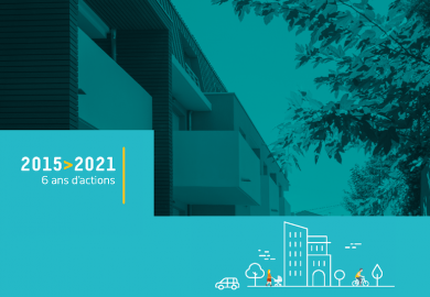 2015 - 2021 : Bilan de 6 ans d'actions