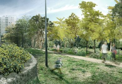 Bientôt une forêt urbaine de 150 arbres à Mazargues