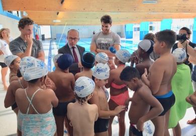 150 enfants ont appris à nager