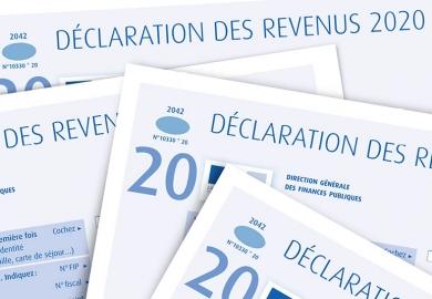 Pensez à faire votre déclaration d'impôt 2020 !