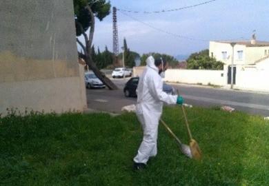 Nos agents de terrain mobilisés pour assurer hygiène et propreté dans les résidences