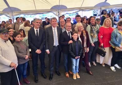 Inauguration de la résidence Les Gavotines à Aubagne